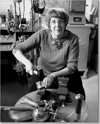 Liane Redpath, Bellingham metalsmith, artist