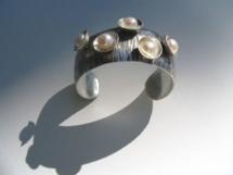 Liane Redpath - metal art bracelets Bellingham
