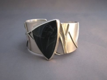 Liane Redpath - metal art bracelet Bellingham